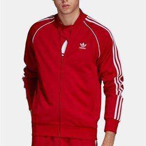 Extra Large Men's Red Adidas Jacket EUC